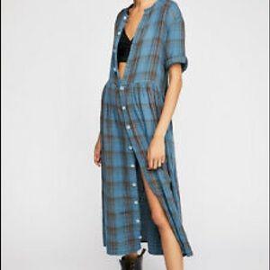 CP Shades Lou Lou Plaid dress